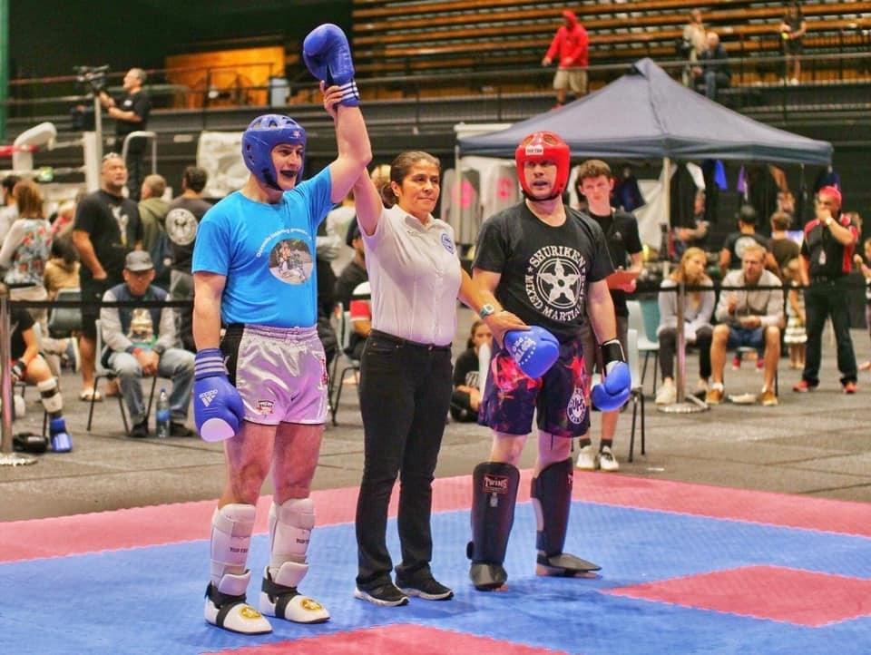Marjan Bolhar prvak Oceanije v kickboxingu