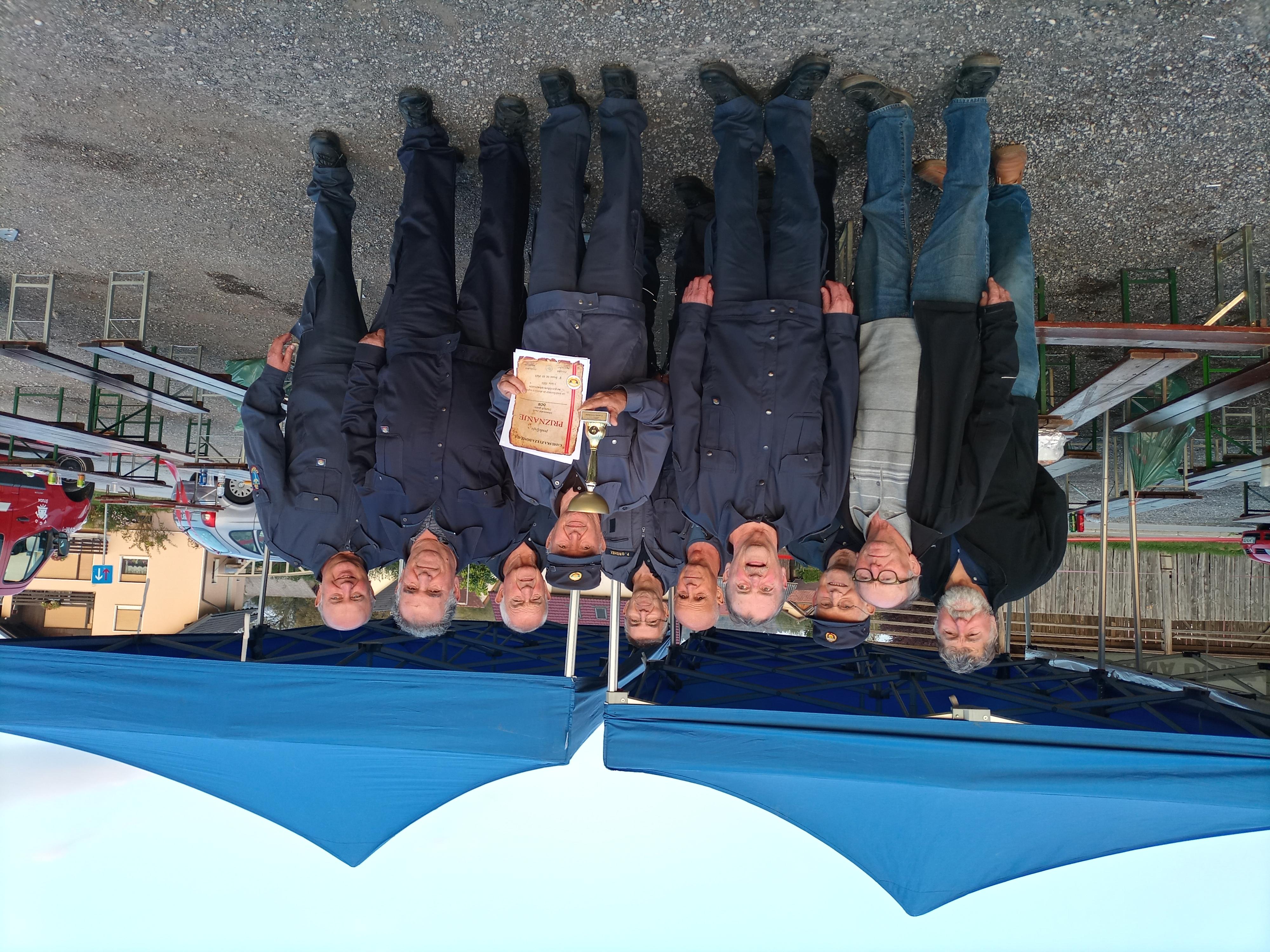 Starejši gasilci PGD Dob osvojili 3. mesto