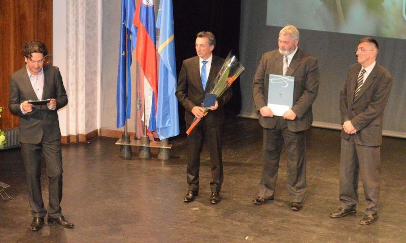 Pavle Orehek je prejel BRONASTO PLAKETO