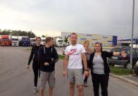 Ekipa prve pomoči GZ Domžale se pridno pripravlja na tekmovanje