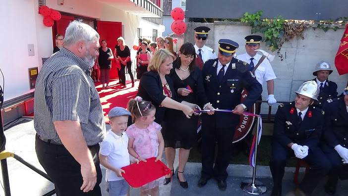 V novem Domu krajanov Dob dobili prostore gasilci in vrtec Pikapolonica