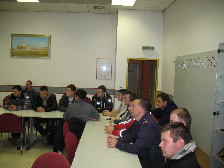 Člani PGD Dob se izobražujejo